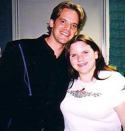 Brian Glenn and Jamie Gilmore backstage