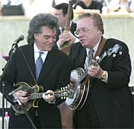 Marty Stuart and Earl Scruggs